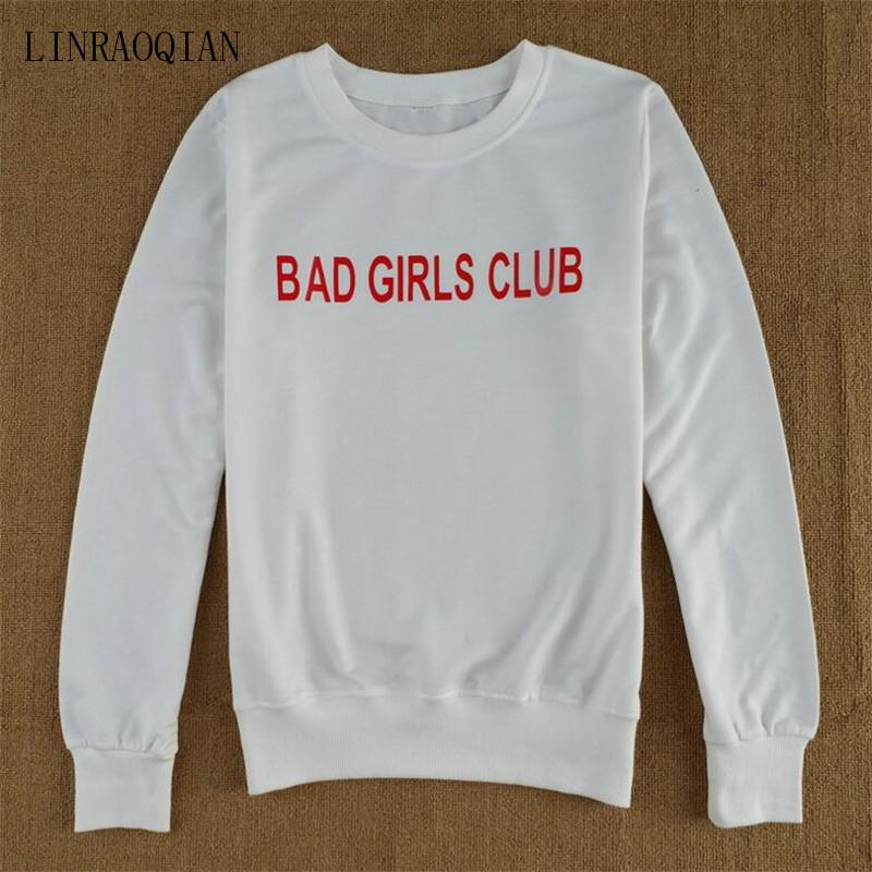 BAD GIRLS CLUB Print T Shirt Women Tops Autumn Long Sleeve Tshirt ... 1fba0377398f