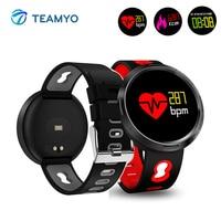 Teamyo Smart Bracelet Watches Blood Pressure Cicret bracelet Fitness watch band Activity Tracker Sport Smart watch men ip 68