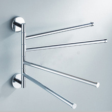 Bathroom hardware stainless steel towel rack rotating activity towel bar towel rack bathroom accessories стоимость