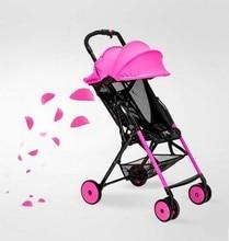 Super lightweight umbrella stroller car adjustable lightweight folding baby stroller