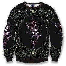 Skulls Fashion style sweatshirt men's vintage flowers sweatshirt casual harajuku hoodies slim Asia S-XL