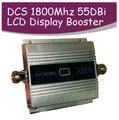 LCD Familia 2G GSM DCS 1800 Mhz 1800 Teléfono Móvil Teléfono Móvil del teléfono celular Repetidor de Señal Booster Amplificador Enhancer cubierta 200m2