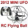 Бесплатная доставка 3 канальный 777 - 286 мини летающий rc нло мяч, Пульт дистанционного управления небольшое пространство мяч с гироскопом FSWB