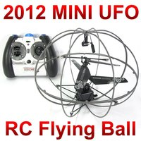 Free Shipping 3 CH 777 286 mini Flying rc UFO ball,remote control small space ball with gyro FSWB