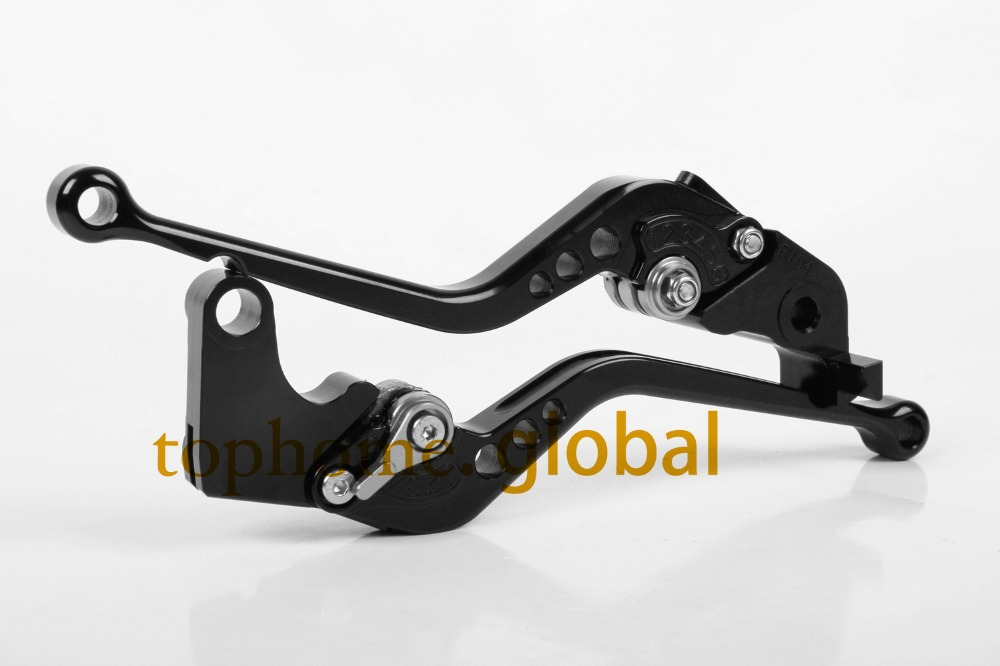Free Shipping Motorcycle Accessories For Kawasaki ZZR1100 1993-2001 1994 1995 1996 1997 Black Handlebar CNC Clutch Brake Lever