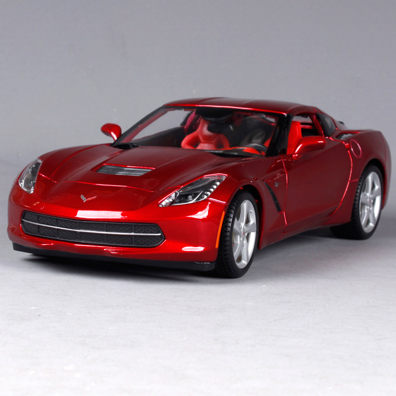Maisto 1:18 2014 Corvette Stingray Sports Car Diecast Model Car Toy New In Box Free Shipping 31182 автомобиль jada toys corvette stingray concept glossy 1 18 серебристый 96326s