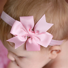 5pcs head wrap baby headbands headwear girls bow knot hairband head band infant newborn Toddlers Gift tiara hair accessories