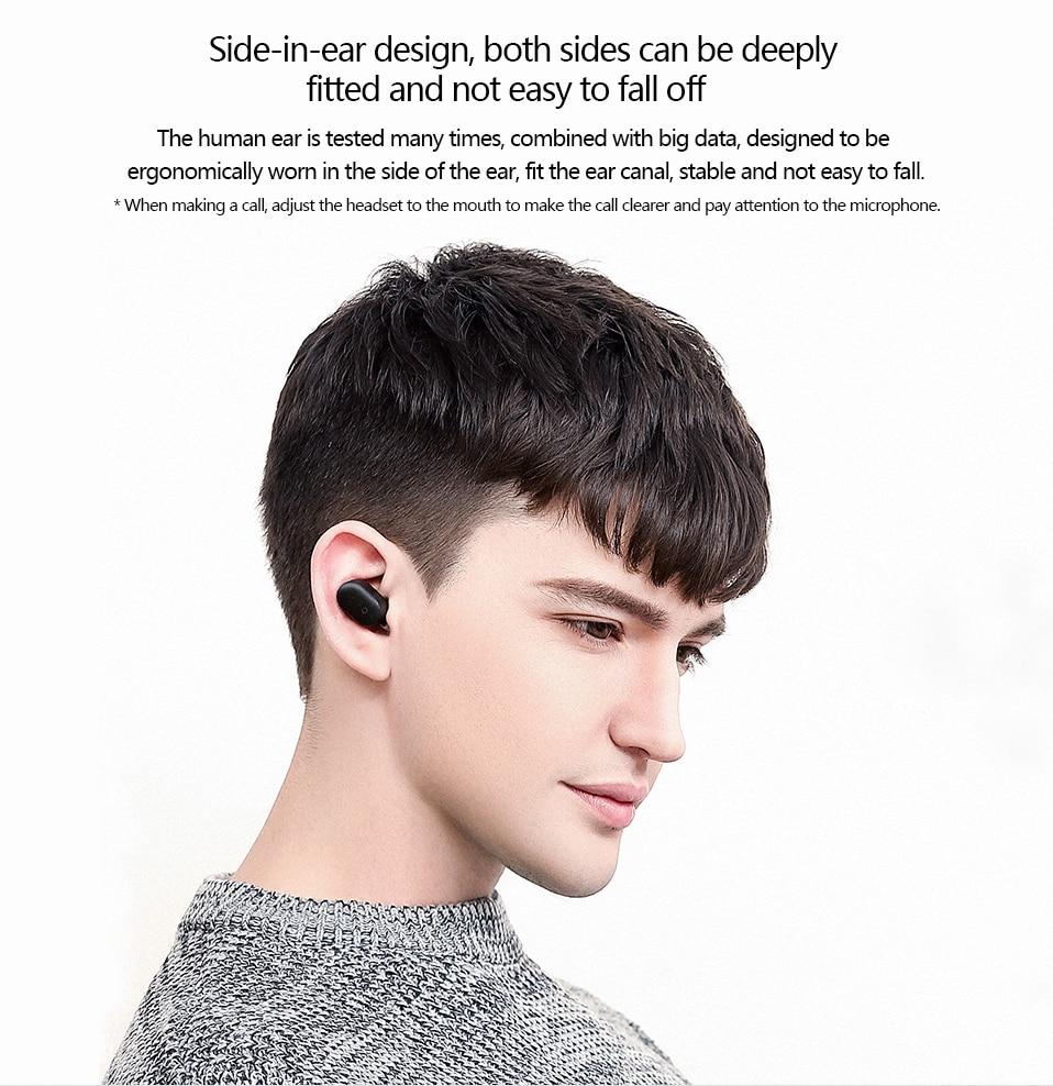 Original Xiaomi Bluetooth Earphone Mini In-Ear Wireless Earbuds (4)