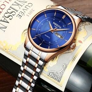 Image 2 - Nibosi למעלה מותג יוקרה Mens שעונים אופנה מקרית ספורט שעוני יד שבוע תאריך שעון צבא צבאי שעון גברים Relogio Masculino