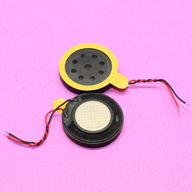 YuXi 20MM Brand New Replacement parts round loud speaker horn ringer buzzer for cell phone.
