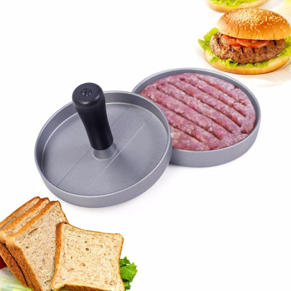 Goplus Kitchen Craft Pounder Beef Hamburger Vegetable Burger Press Maker Mould KC38194