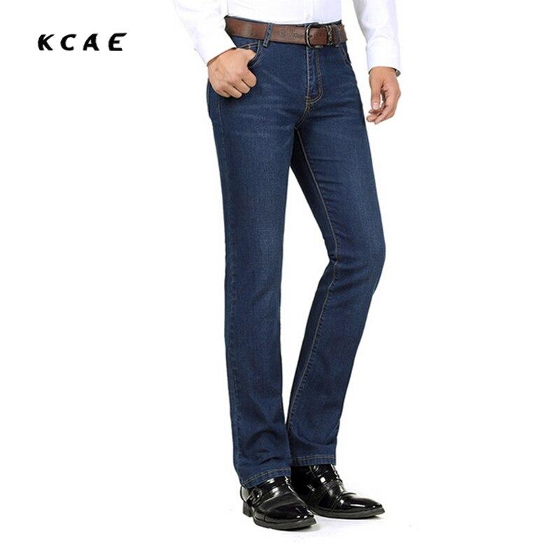 2017 Brand Jeans Straight New Fashion Top quality High Grade Slim jeans Straight Retro Men Denim Jeans king lear