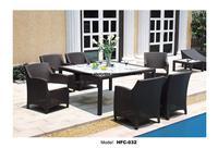 Классический сад набор современный досуг открытый стол, стулья патио балкон садовая мебель сочетание ротанга Стулья 1.6 м Таблица