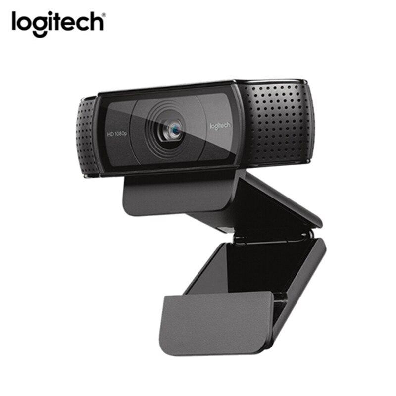 Logitech C920e webcam HD Vidéo Chat Enregistrement maquillage pour cheveux HD Smart 1080 p webcam pour Ordinateur Logitech C920 mise à niveau version