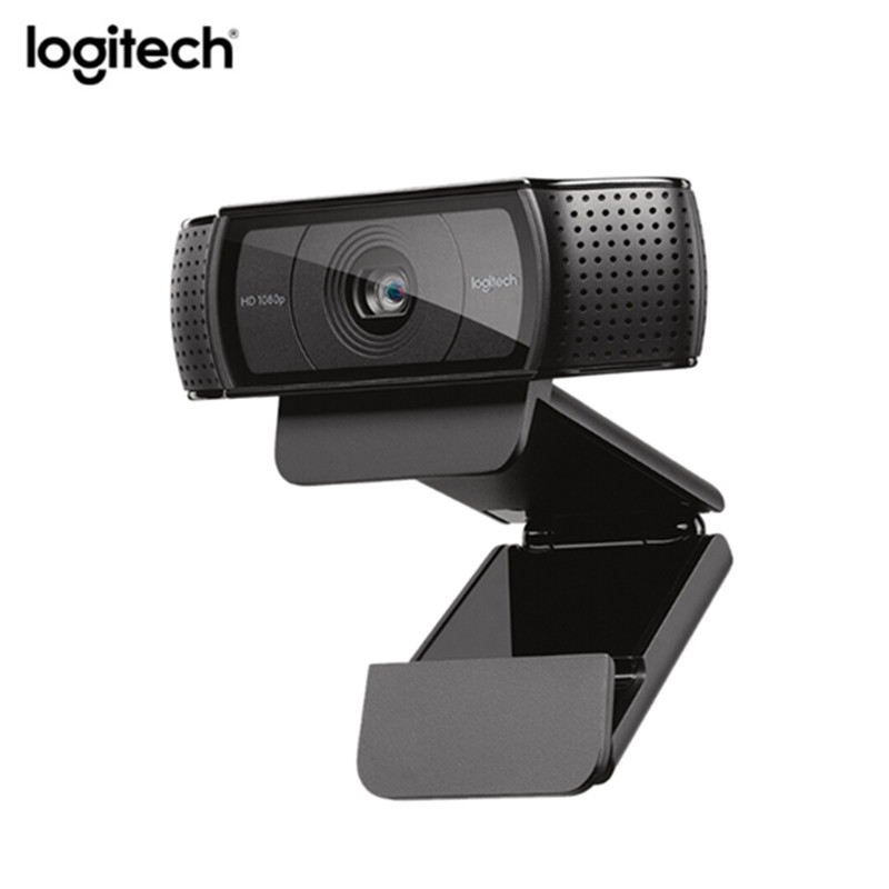 Logitech C920e webcam HD Vidéo Chat Enregistrement maquillage pour cheveux HD Smart 1080 p webcam pour Ordinateur Logitech C920 mise à niveau version