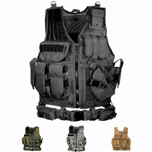 High Quality Tactical Vest Men Army Hunting Airsoft Vests Outdoor Sport Training Combat Protection Vest For Paintball Wargame недорого