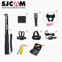 SJCAM Sj6 Sj7 Accessories Remote control Monopod Chest Strap Belt Head Strap Mount Bag for M20