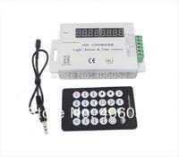 12-24v Intelligent Light sensor and time programmable control led controller for single color led strip