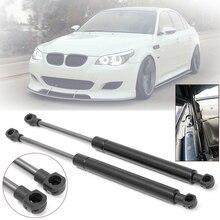 цена на 2pcs Black Bonnet Hood Gas Lift Support Shock Strut Damper Kit For BMW E60 E61 525i/528i/530i Auto Car Accessories