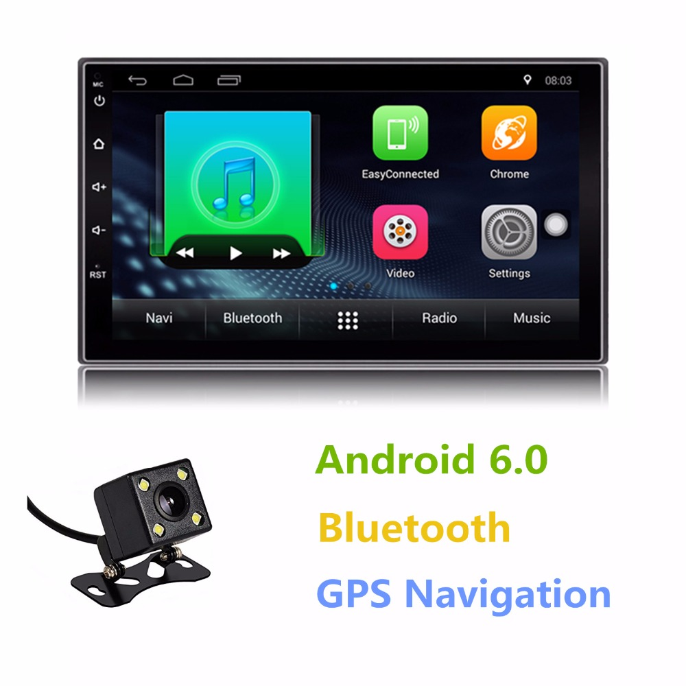 auto radio android double 2 din 7 inch touch screen car. Black Bedroom Furniture Sets. Home Design Ideas