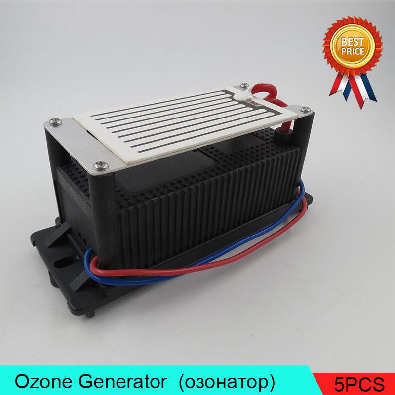 5PCS/Lot Low Energy Ozone Generator Deodorizer 3.5g (3500mg) Air Purifier Sterilizer Air Lonizer lightweight Low Energy 2pcs lot low energy ozone generator deodorizer 3 5g 3500mg air purifier sterilizer air lonizer lightweight low energy