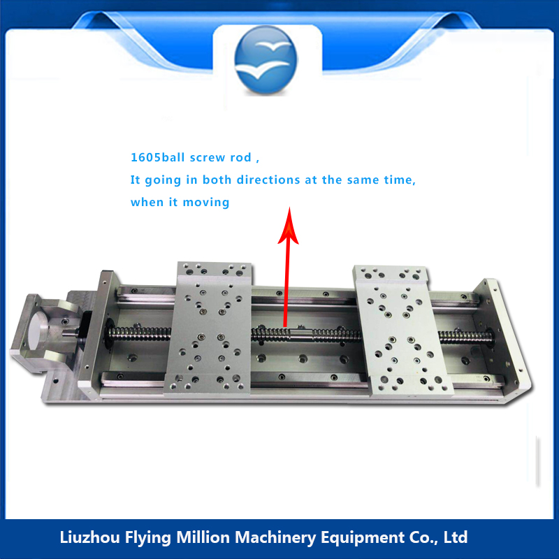 Nouvelle précision CNC Guide linéaire scène Rail mouvement actionneur Table coulissante vis à billes Stroke93-493 efficace pour NEMA 23 moteur