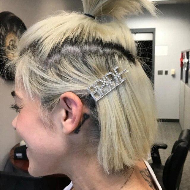 Bracelet épingle à cheveux Clip pour demoiselle dhonneur | Cadeau de décoration pour soirée enterrement de vie de jeune fille
