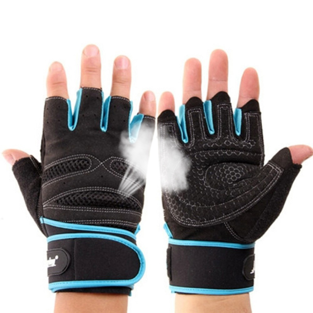 Wrist Body Building Training Fitness WeightLifting Gloves & Mittens For Men Women Workout Fitness Exercise Gym Tactical Gloves
