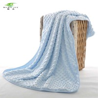 High Quality Double Layer Baby Blankets Newborn Polar Fleece Kids Blanket Swaddle 75 100 Cm Four
