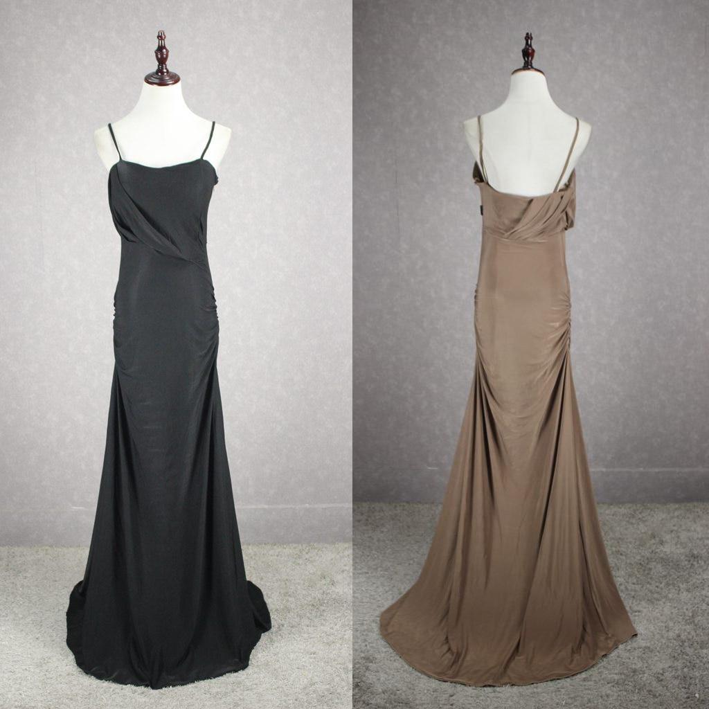 Popular Black Dinner Cheap Dress
