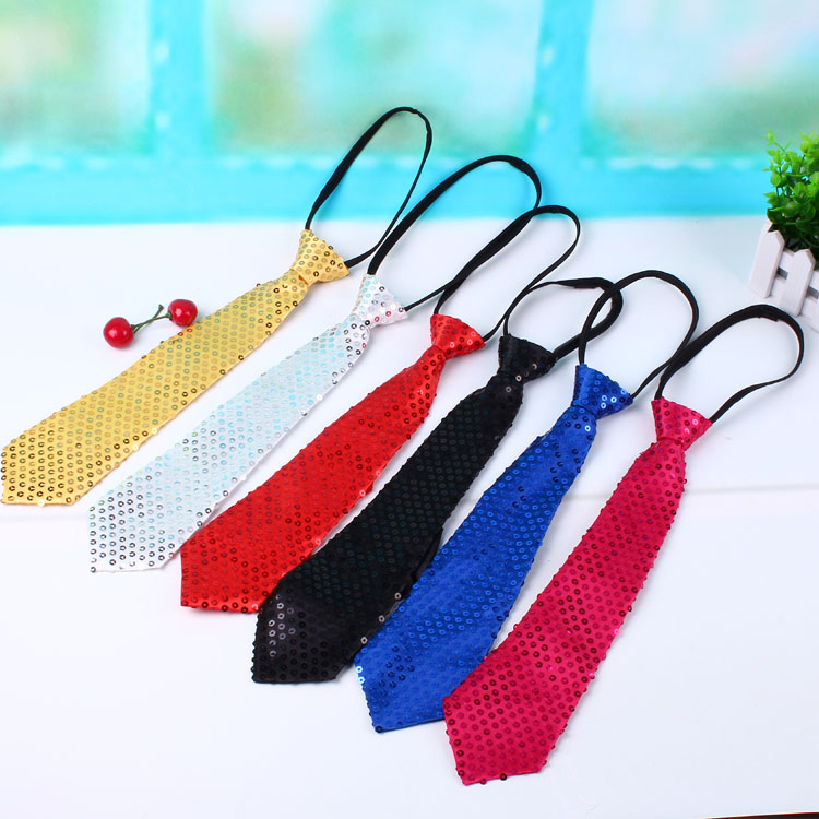 2016 Men children boy baby Sequins Party Bowtie Bowstudent Tie Pre Tied for suits Adjustable