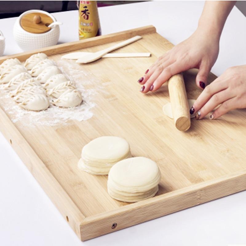 80*50 см бамбуковая разделочная доска высокого качества бамбуковая большая панель разделочный блок Панель кухонный нож набор тарелок