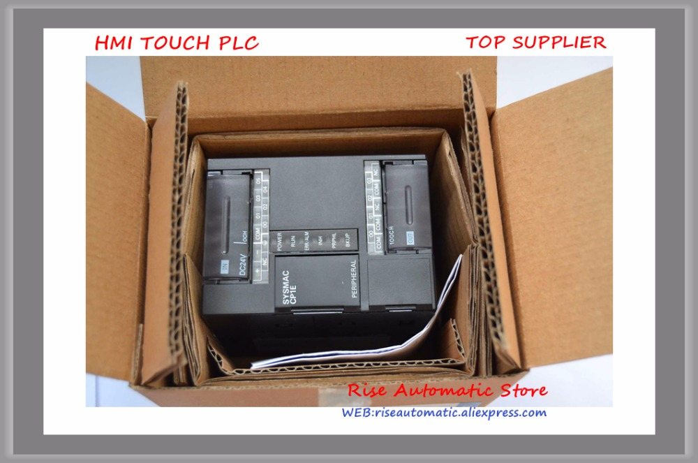 New original PLC 6 input 4 output Transistor Sinking CP1E-E10DT-D 24VDC well tested working хомут ekf plc cb 4 8x250