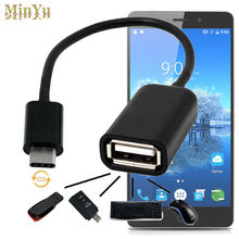 USB-C 3.1 Type C Male to USB 2.0 Cable Adapter OTG Data Sync Charger Charging Connectors for Elephone P9000 / P9000 Lite M3
