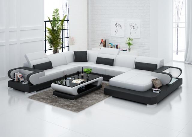 Zwart wit woonkamer bank met hoge kwaliteit g in zwart