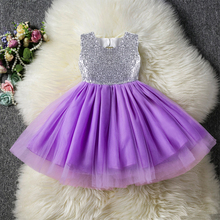 AmzBarley Girls tutu dress Sequined Lace Princess costume kids Backless Mini 2-8 years Birthday Halloween party Ball gown