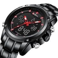 Sports Men's Watches Top Brand Luxury Stainless Steel Watch Men Waterproof S Shock Clock Relogio Masculino