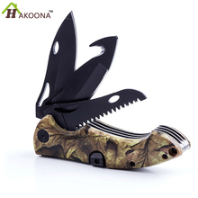 Outdoor Supplies Outdoor Hunting Survival Knife Camping Pocket Knife Saber Multi-Purpose All-Metal Three Knifs Tactical  knife