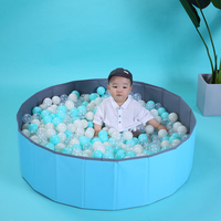 Pink Blue Waterproof Kids Ball Pit Folding Portable in Toy Balls Pool Storage Ocean Ball Playpen Without Balls