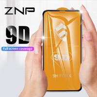 ZNP 9D Защитное стекло для iphone 6 6S 7 8 Plus X 10 стекло на iphone 8 XS Максимальная Защита экрана для iphone 7 8 XR закаленное стекло