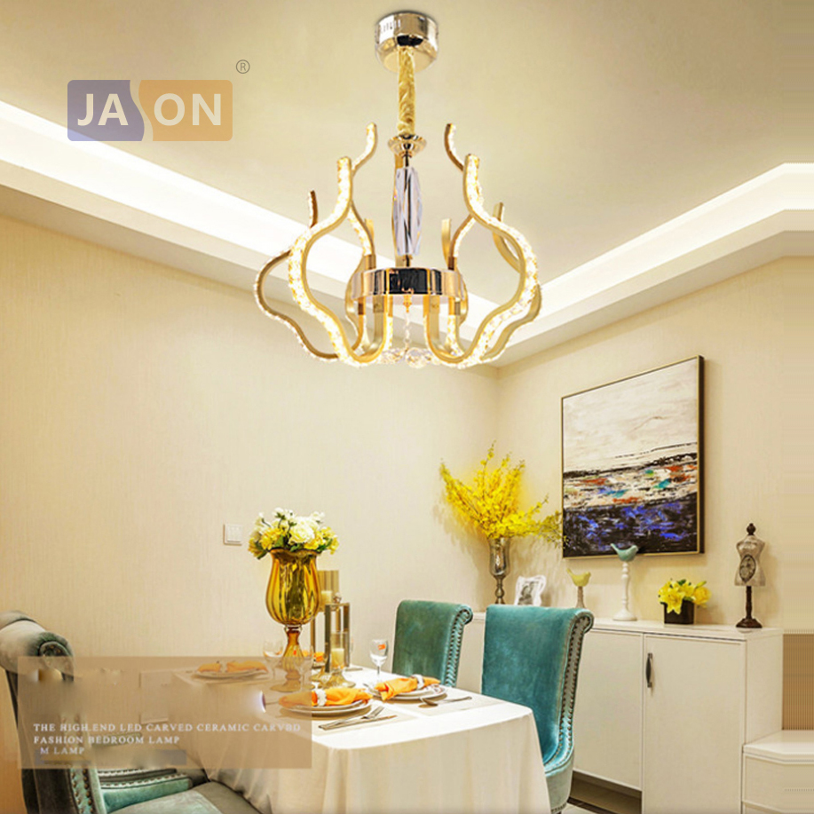 LED Nordic Stainless Steel Crystal Aluminum LED Lamp LED Light.Pendant Lights.Pendant Lamp.Pendant light For Foyer Dinning RoomLED Nordic Stainless Steel Crystal Aluminum LED Lamp LED Light.Pendant Lights.Pendant Lamp.Pendant light For Foyer Dinning Room