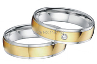 tailor made yellow gold color jewelry classic low dome wedding bands engagement ring sets for couples