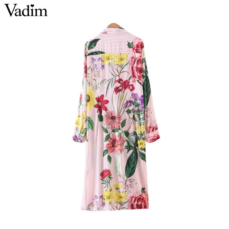 HTB1AE BRXXXXXbDapXXq6xXFXXXK - Women vintage floral long sleeve turn down collar blouses casual