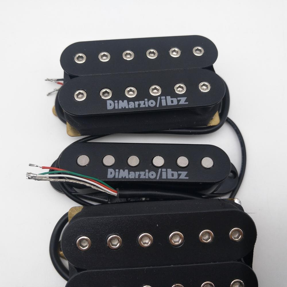 DiMarzioIBZ Alnico Guitar Pickups HSH Electric Guitar Pickup N/M/B 1 Set