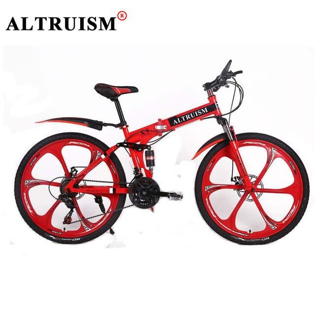 Onwijs Altruism X9 Folding Bike Bicycles Aluminium alloy Fiets 21 Speed DB-99