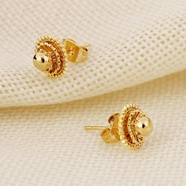 Isreal 1cm 2cm Small Ear Stud Earring