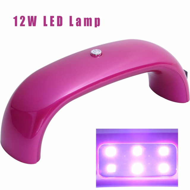 Pro 12W LED Lamp For Nails UV Gel Nail Polish Dryer Lamp Machine ...