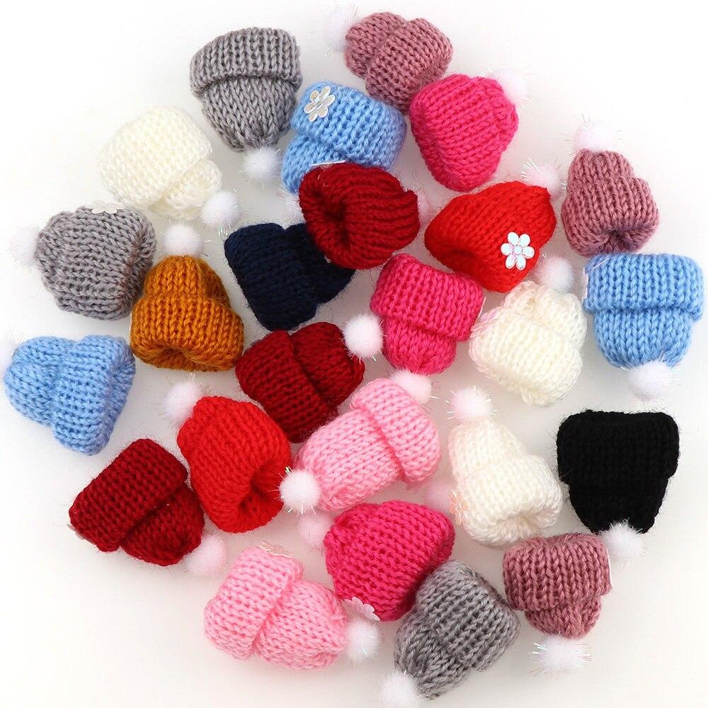10 шт. Весна Новый мини шерсть шляпа свитер корейский мини Симпатичные шарики для детей Кукла Kawaii Лидер продаж Jewelry в Японии