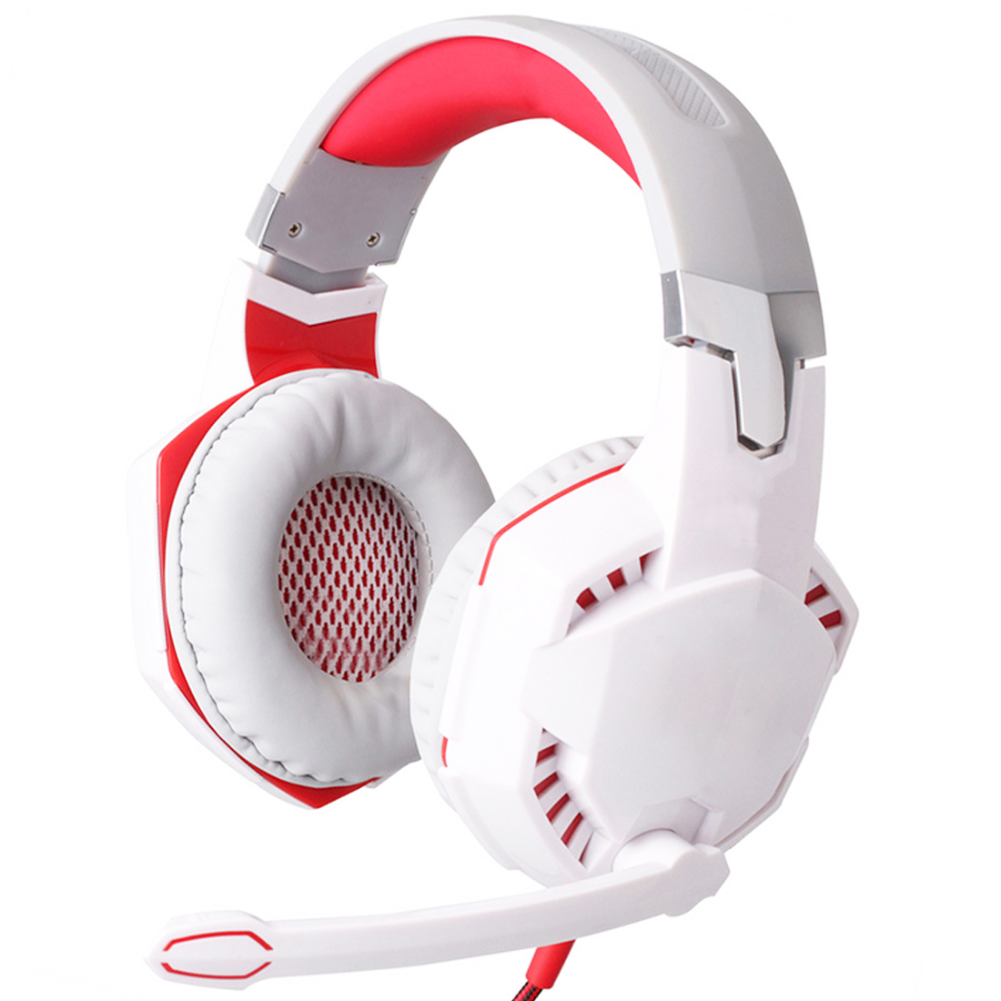 Marsnaska Top Wire Gaming Headphone Gaming Headset Over Ear casque gamer Game Headphone With Microphone Mic LED light for PC philips shg7210 professional game headphones with microphone wire control headphone for xiaomi mp3 official verification