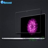 Netcosy HD Şeffaf Temperli Cam Ekran Koruyucu Film Macbook Pro Hava 11 12 13 Retina Pro 15.4 Için Koruyucu Film